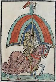 Illustrasjon fra Concilium zu Constanz (1483). Bilde.