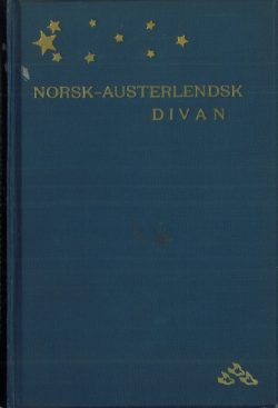 Norsk-austerlendsk Divan. Foto bokomslag.