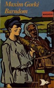 """1987-utgaven av M. Gorkijs """"Barndom"""", oversatt i 1939"""