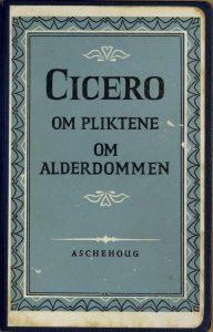 Foto. Cicero, bokomslag