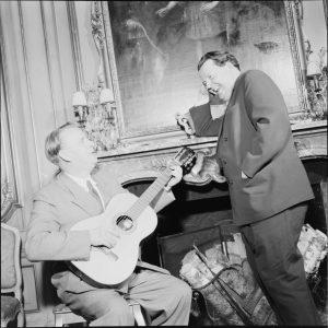 Foto: Med Ulf Petter Olrog i 1953