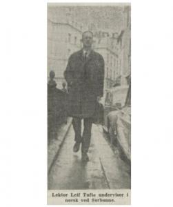 Foto: Illustrasjonsfoto til et intervju om Frankrike i Arbeiderbladet 10. april 1965.