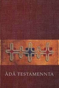 Omslaget til Ådå testamenta – Det nye testamentet på lulesamisk