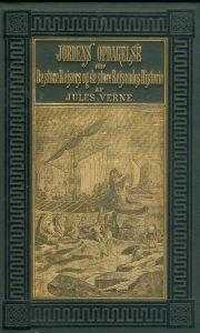 Illustrasjon 1880 Første bind i «Jordens Opdagelseshistorie, utgitt av P. T. Malling i 1880