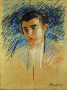 Munchs maleri av Nilssen